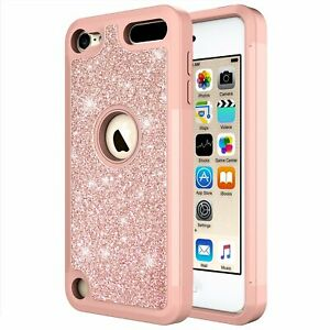 For-iPod-Touch-5th-6th-7th-Gen-Glitter-Bling-Hybrid-Phone-Case-Cover