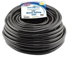 Hydro Flow - Vinyl Tubing Black - 3/8 in ID - 1/2 in OD 100 ft Roll - Pump Tube