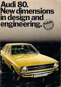 Audi 80 1973-74 UK Market Sales Brochure Base L S LS GL 1300 1500 | Audi Gl on the new audi, first audi, blue audi, exotic audi, pink audi, chief keef audi, white audi, all black audi, golden audi, fast audi, cheap audi, matchbox audi,
