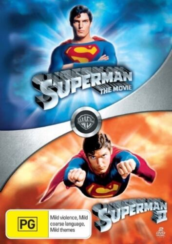 1 of 1 - Superman: The Movie (1978) / Superman II (1980) DVD NEW