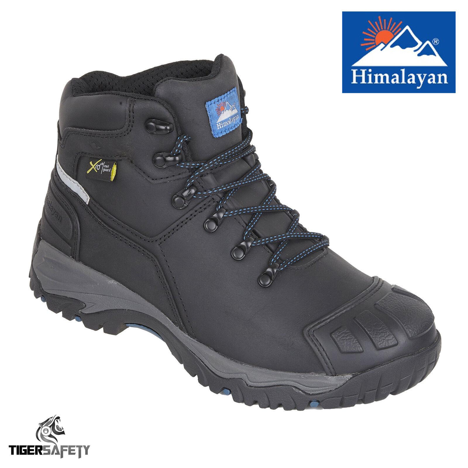 Himalayan 5208 S3 SRC Puntera De Acero Impermeable Metatarso Projoección botas De Seguridad PPE