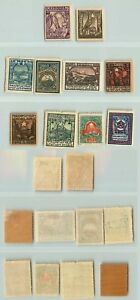 Contemplative Armenia 1922 Sc 300-309 Mint Asia F7820 A Complete Range Of Specifications Armenia