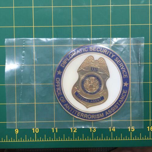"Diplomatic Security medallions 4/"" diameter"