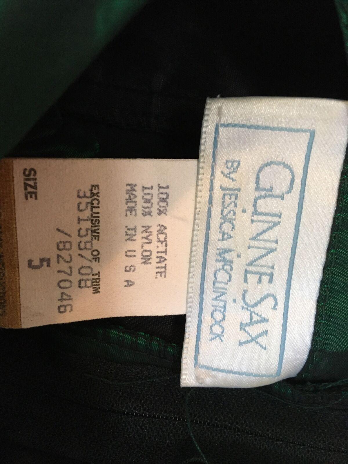vintage jessica mcclintock gunne sax dress 80s Wo… - image 5