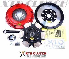 XTD STAGE 3 CLUTCH & 10LBS FLYWHEEL KIT VW GOLF JETTA 1.8T TURBO 1.8L 5SPEED