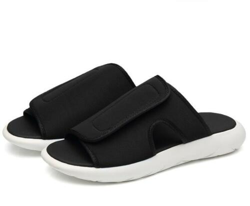 Cool Men soft Sole Thick slipper Slip On Casual loafer Comfy Beach Sandal Shoes