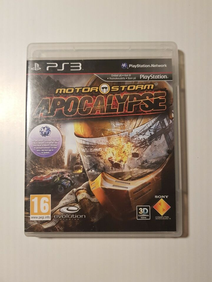 MotorStorm Apocalypse, PS3