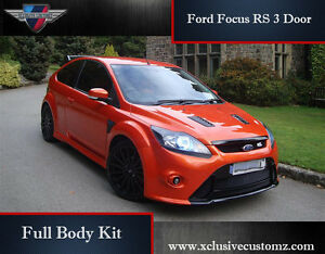 Details About Ford Focus Rs Body Kit For The Focus Mk2 04 10 Rs Conversion