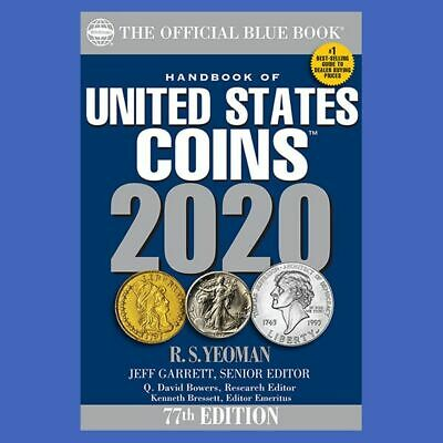 2020 Blue Book Of US Coins Softcover