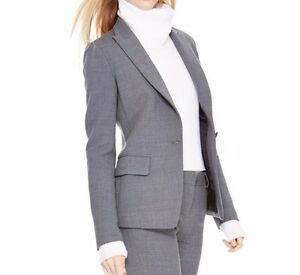 Notch Nwt Karan Jacket Steel Single Button Sz10 Collar Donna 495 Runway Hea Dkny 795731023410 0qr60wA