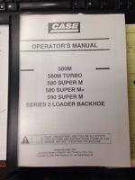 Case 580m Series 2 Ii 590sm Backhoe Operation Manual 87592031 Na