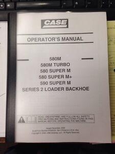 case 580m series 2 ii 590sm backhoe operation manual 87592031 na ebay rh ebay com 580 Case Repair Manual Case 580 Backhoe Manual Online