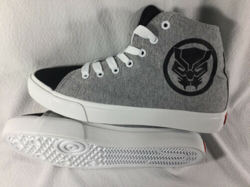 in Marvel 13 Panther 8 Taglie Sneakers tela Mens nera Merchandise dqIvdgw