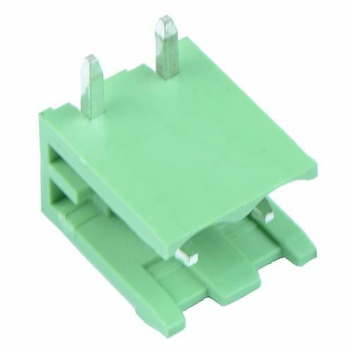 5 x 2-Way Plug-In PCB Horizontal Open Ends Header 5.08mm
