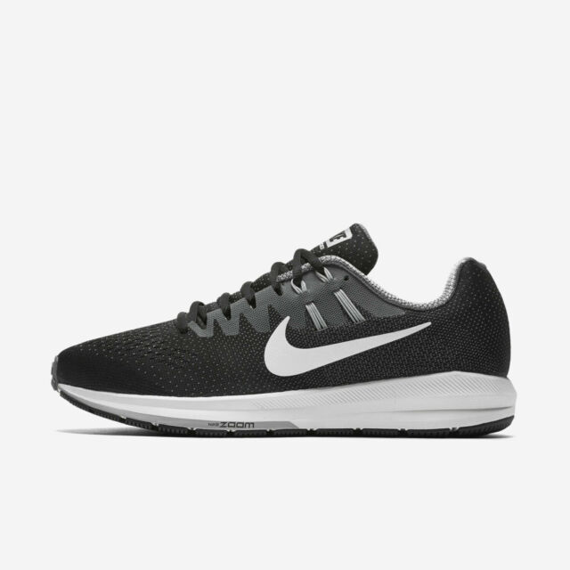 Nike Air Zoom Structure 20 Men's Running Shoes 849576 003 BlkWhtGry Sizes 8 15