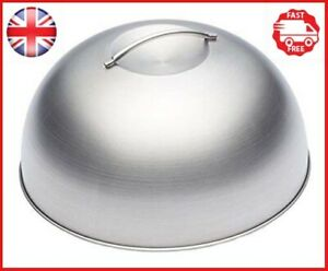 KitchenCraft-MasterClass-Melting-Dome-and-Burger-Cover-Stainless-Steel-Silver