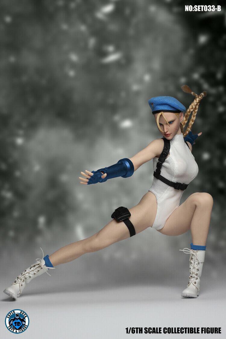 1 6 Super Duck set033b Capcom Street Fighter Cammy blanco ­ with tbleague s22a