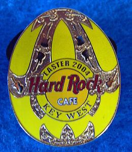 Dallas-Texas-Oro-Decorativa-Amarillo-Pascua-Huevo-Serie-2004-Hard-Rock-Cafe-Pin
