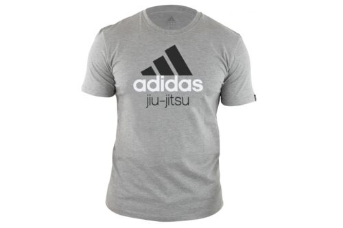 Adidas Jiu Jitsu TShirt Training Top Mens Womens BJJ Tee Martial Arts Top