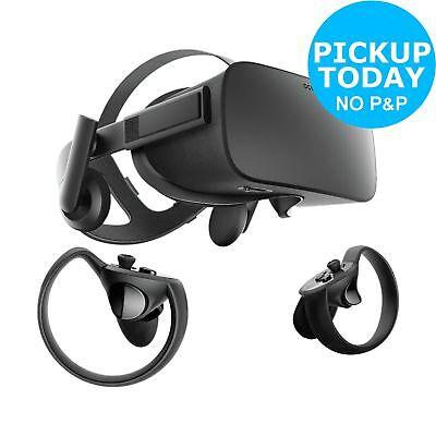 Oculus Rift Virtual Reality Headset.