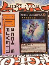 NUMERO 7 SEQUENZA FORTUNATA  in italiano YUGIOH SEGRETO originale mint