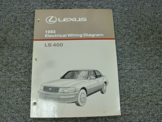 1993 Lexus Ls 400 Ls400 Sedan Electrical Wiring Diagrams