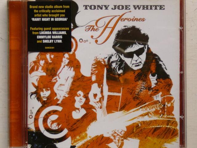 TONY JOE WHITE``The Heroines´´Org.CD von 2004 mit 12 Songs -Blues Rock-