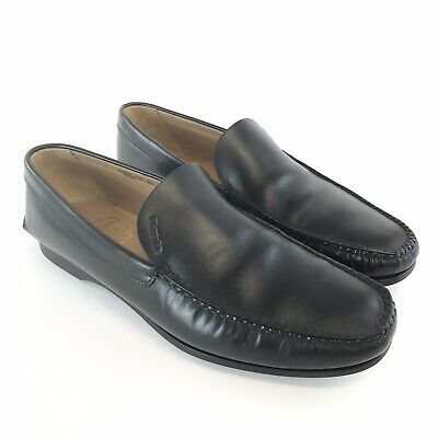 church's kane black leather loafers slip on smart formal