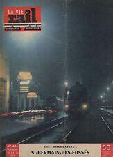la vie du rail N°443 AVRIL 1954 SAINT GERMAIN DES FOSSES