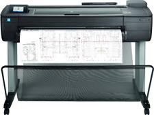 Hp Designjet T730 36 Wide Large Format Wireless Plotter Printer Cad Color Maps