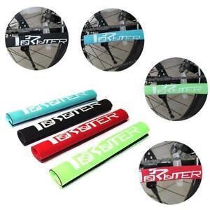 Radfahren-Fahrrad-Fahrrad-Rahmen-Kette-Schutz-Schutz-Nylon-Auflage-Abdeckung-Wra