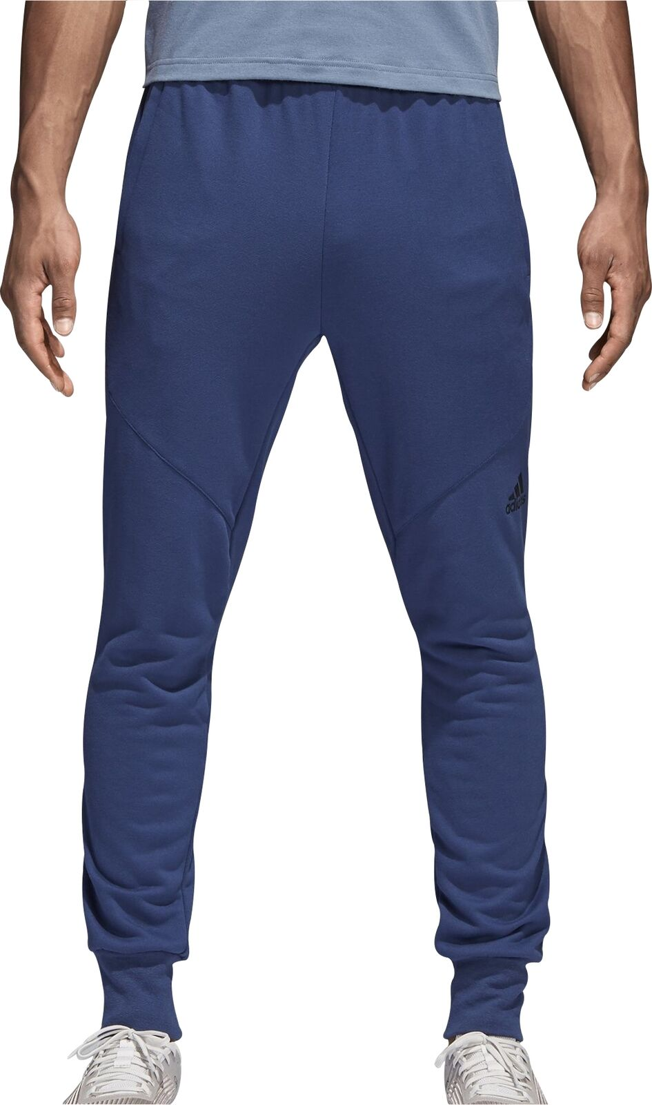 Adidas Prime Workout Mens Joggers - bluee