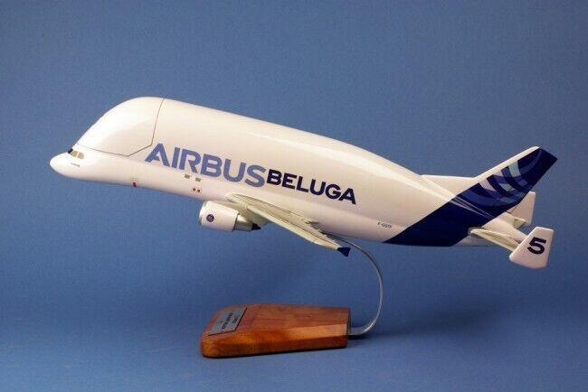 Airbus Beluga nr 5 woodmodel XXL avion Aircraft yakair