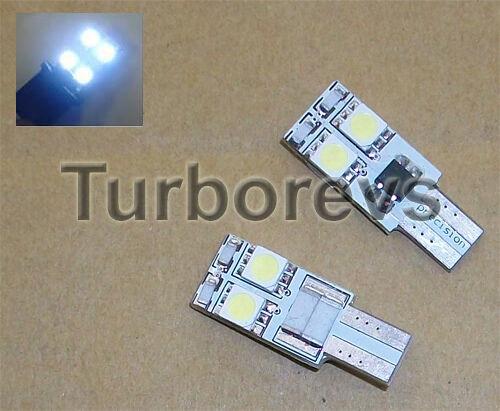 FORD FIESTA MK6 MK7 LED XENON WHITE SIDELIGHT BULBS