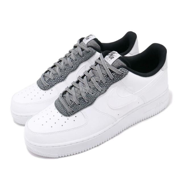 Nike Air Force 1 Shoes Nike Air Force 1 Low 07 Lv8 Mens Trainers Shoes Leather Blue ...