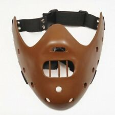 Solid Resin Hannibal Mask Halloween Mouth Bite Guard Fancy Dress Lector Cannibal