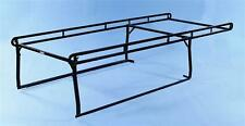 Weather Guard 1280 Black Steel Ladder Rack Bolt On Bed Rail Mount for Chevy/GMC