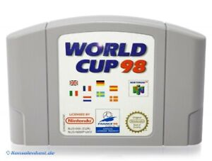 N64-Nintendo-64-Jeu-France-98-le-football-coupe-du-monde-world-cup-98-Module