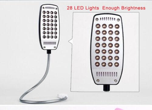 Mini Bright Flexible 28 LED USB Light Computer Lamp Laptop PC electronic desk TT