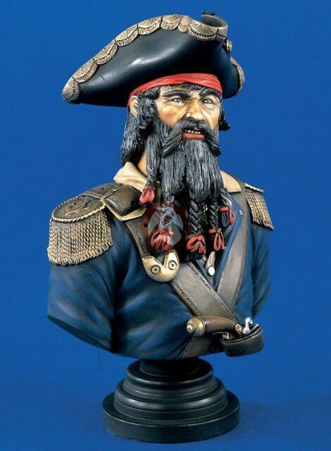 "Verlinden 200mm (1/9) Edward Teach ""Blackbeard"" English Pirate Bust [Resin] 1331"