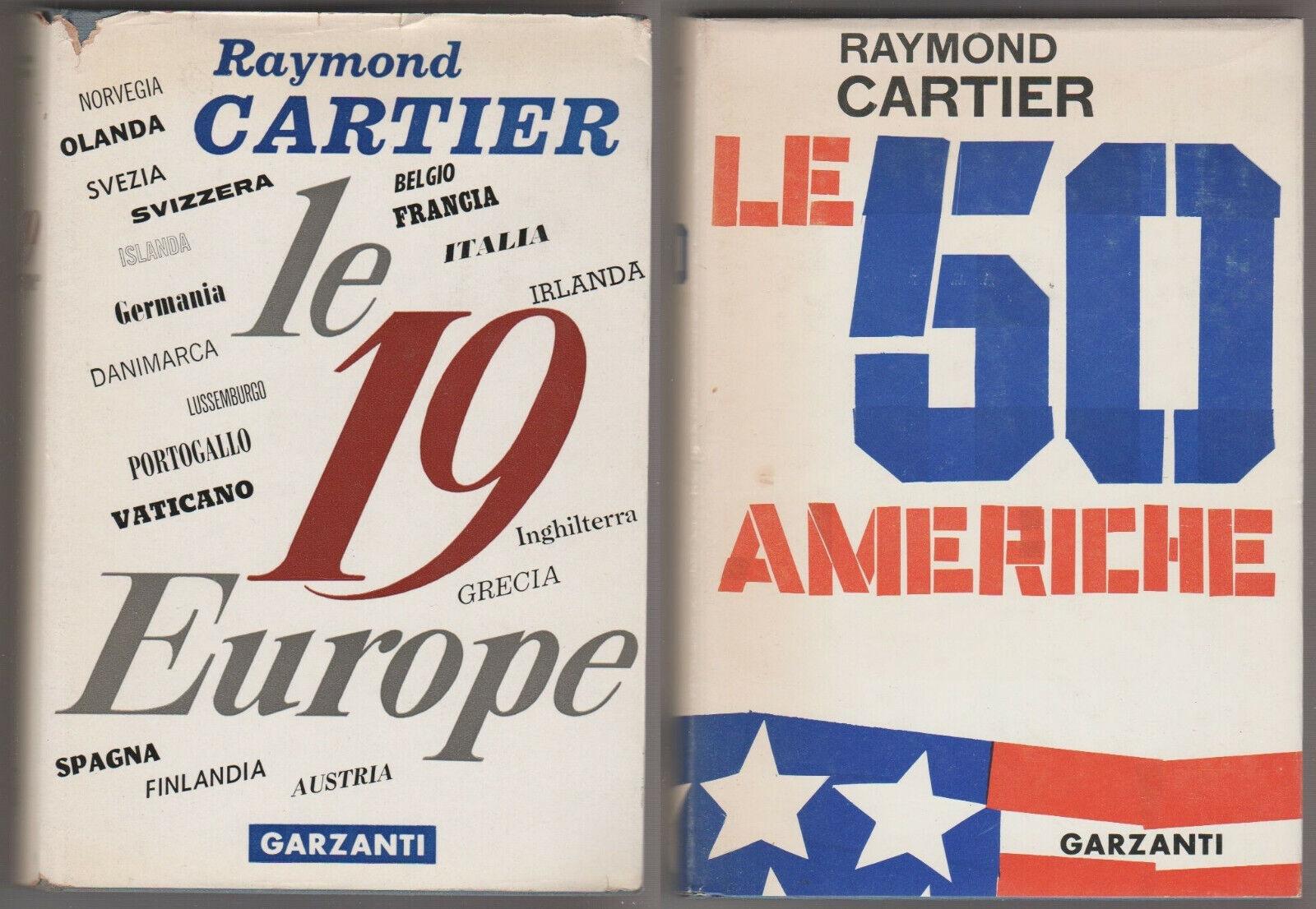 Le 19 Europe + Le 50 Americhe