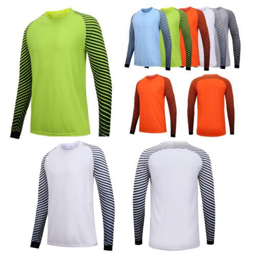 Men Sport Goalkeeper Goalie Soccer football Keeper Jersey shirts