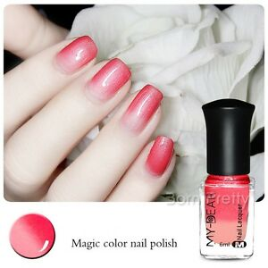 Color-Changing-Thermal-6ml-Nail-Art-Polish-Peel-Off-Red-to-Pink-Varnish