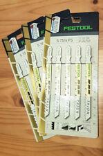 490256 20 Stück - NEU FESTOOL Stichsägeblatt S 75//4 FS//20  Nr