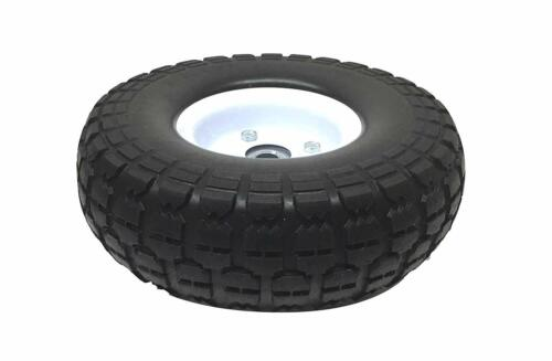 "10/"" Pneumatic Tire All Purpose Utility White Wheel 4.10//3.50-4 TW03S"