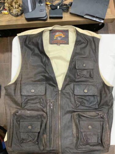 Men's Size L Adventure Bound Fishing Vest By Wilso