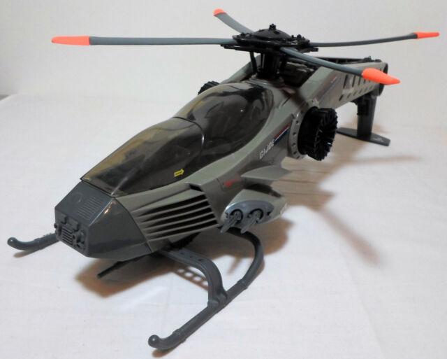 GI JOE 1990 RETALIATOR HELICOPTER EUROPEAN 100% COMPLETE UNPLAYED AWESOME SHAPE