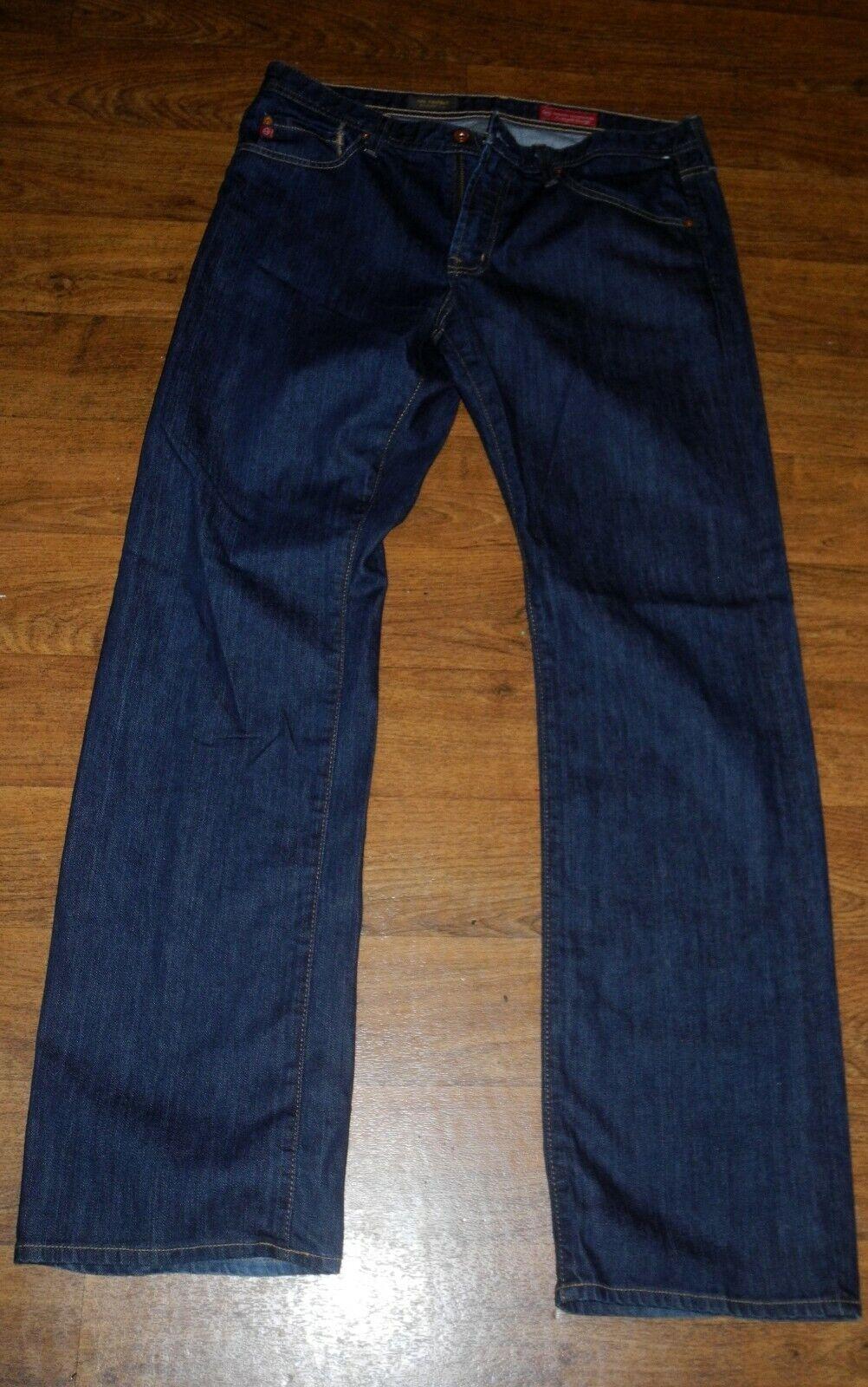 AG Adriano goldschmied PredEGE Straight Leg Men's Dark bluee Jeans 33x34