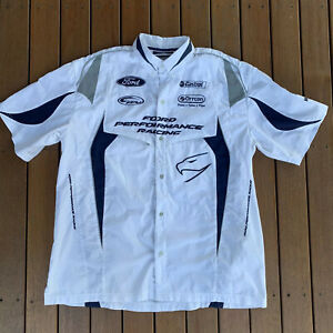 Ford-Performance-Racing-White-Shirt-Castrol-Official-Team-Merchandise-Size-XL