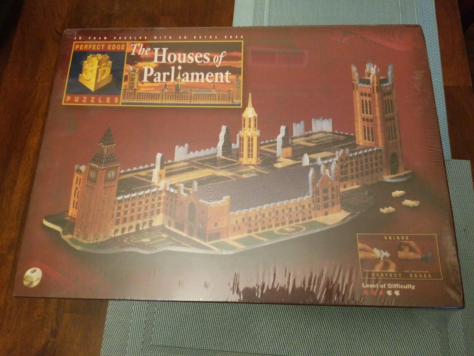 The hauss Of Parliament 3D puzzle Jahr 1997 NEW SEALED